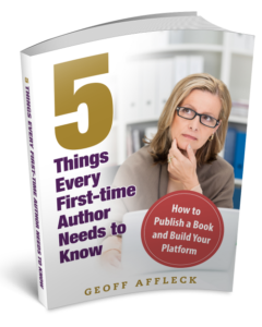 5 Things Every First Time Author Needs to Know